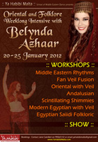 Workshops and show in Malta with Belynda Azhaar